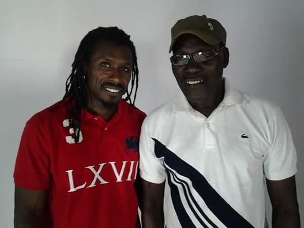 """L'hilarant message de Guissé Pène au """"coach"""" des """"Lions"""" Aliou Cissé"""