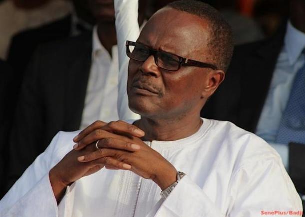 Ousmane Tanor Dieng endeuillé
