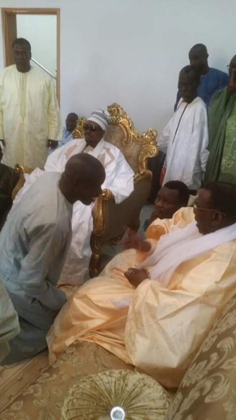 Serigne Bass Abdou Khadre a rendu visite à Cheikh Béthio Thioune (EXCLUSIF DAKARPOSTE)