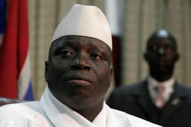 La réaction du Pr Gambien, Yaya A. J. J. Jammeh