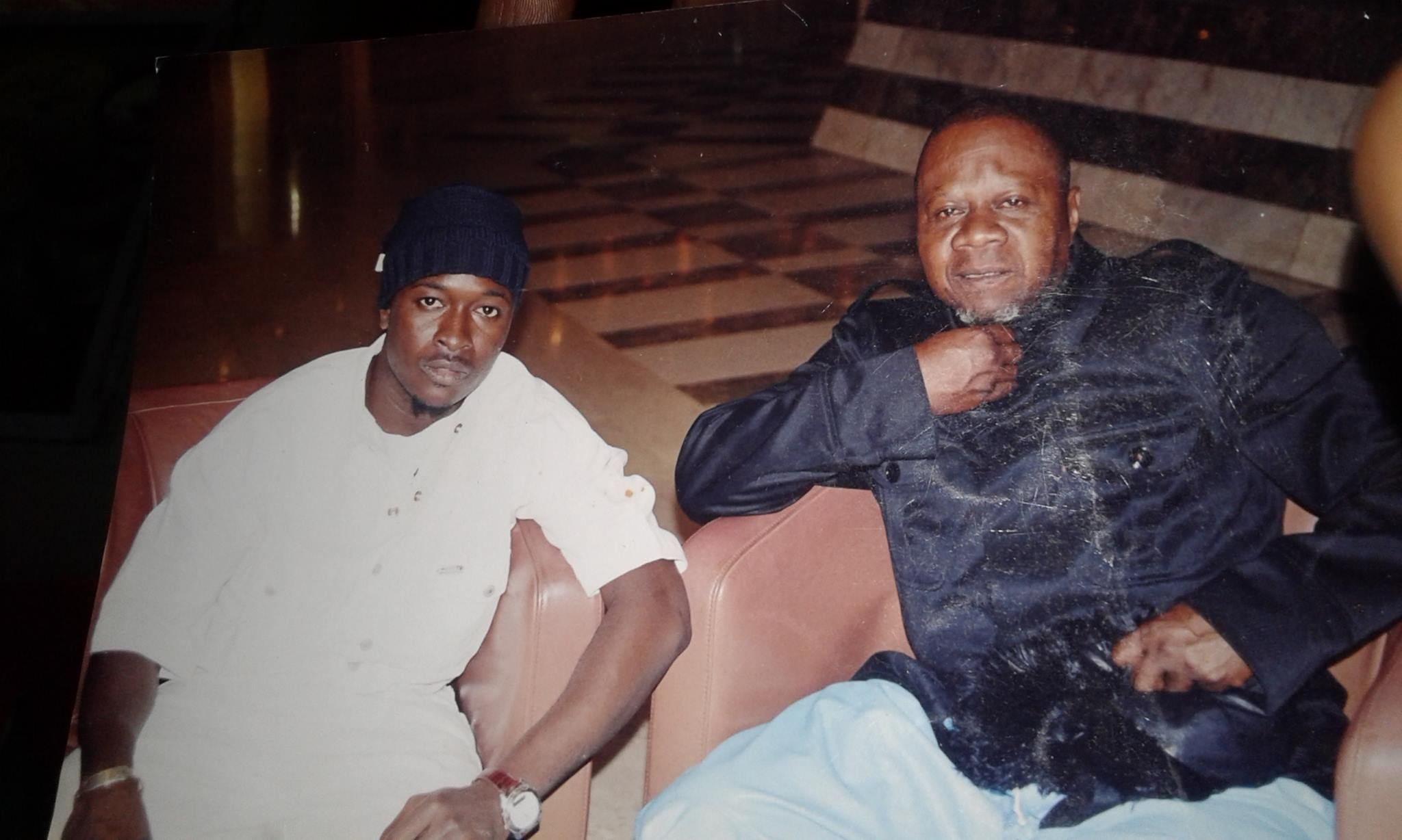Bocar et feu Papa Wemba en 2008