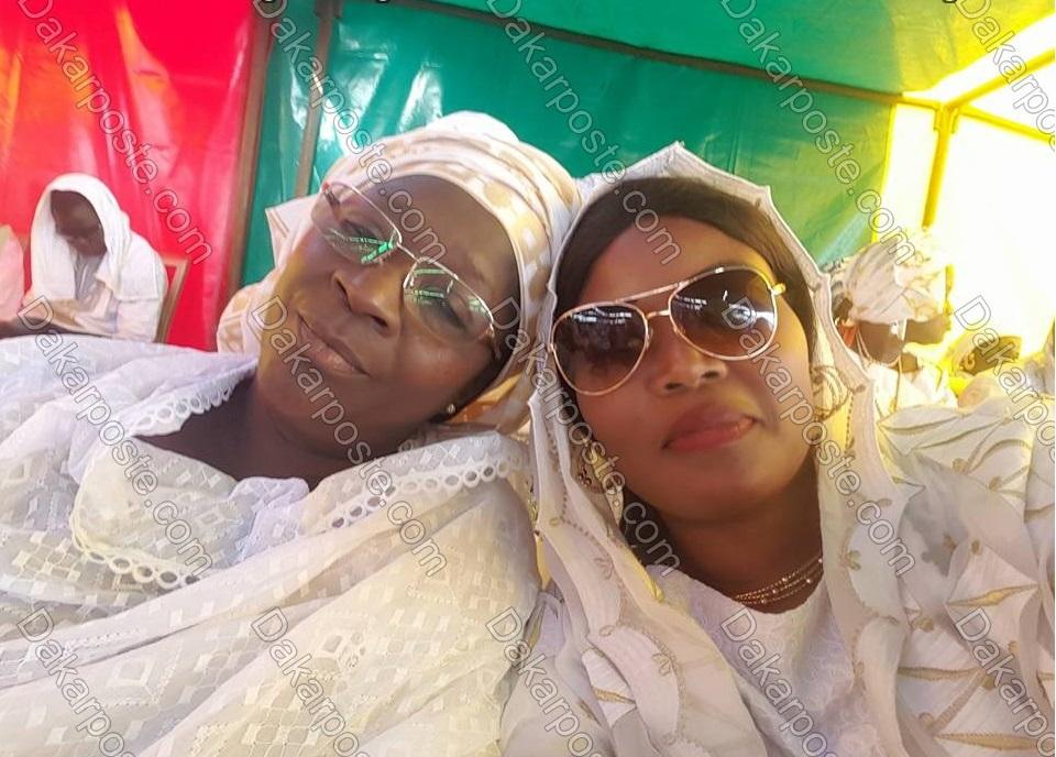 Fatoumata Niang BA & Maman soda  à Yoff Diamalaye.