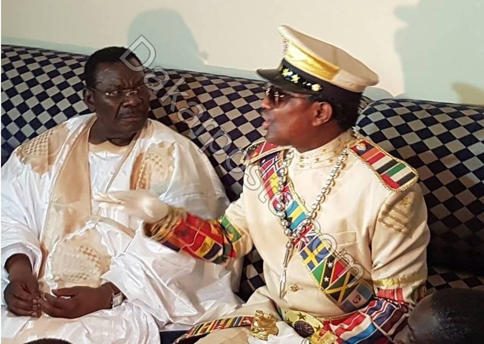 Echanges d'amabilité entre Cheikh Béthio Thioune et Serigne Modou Kara