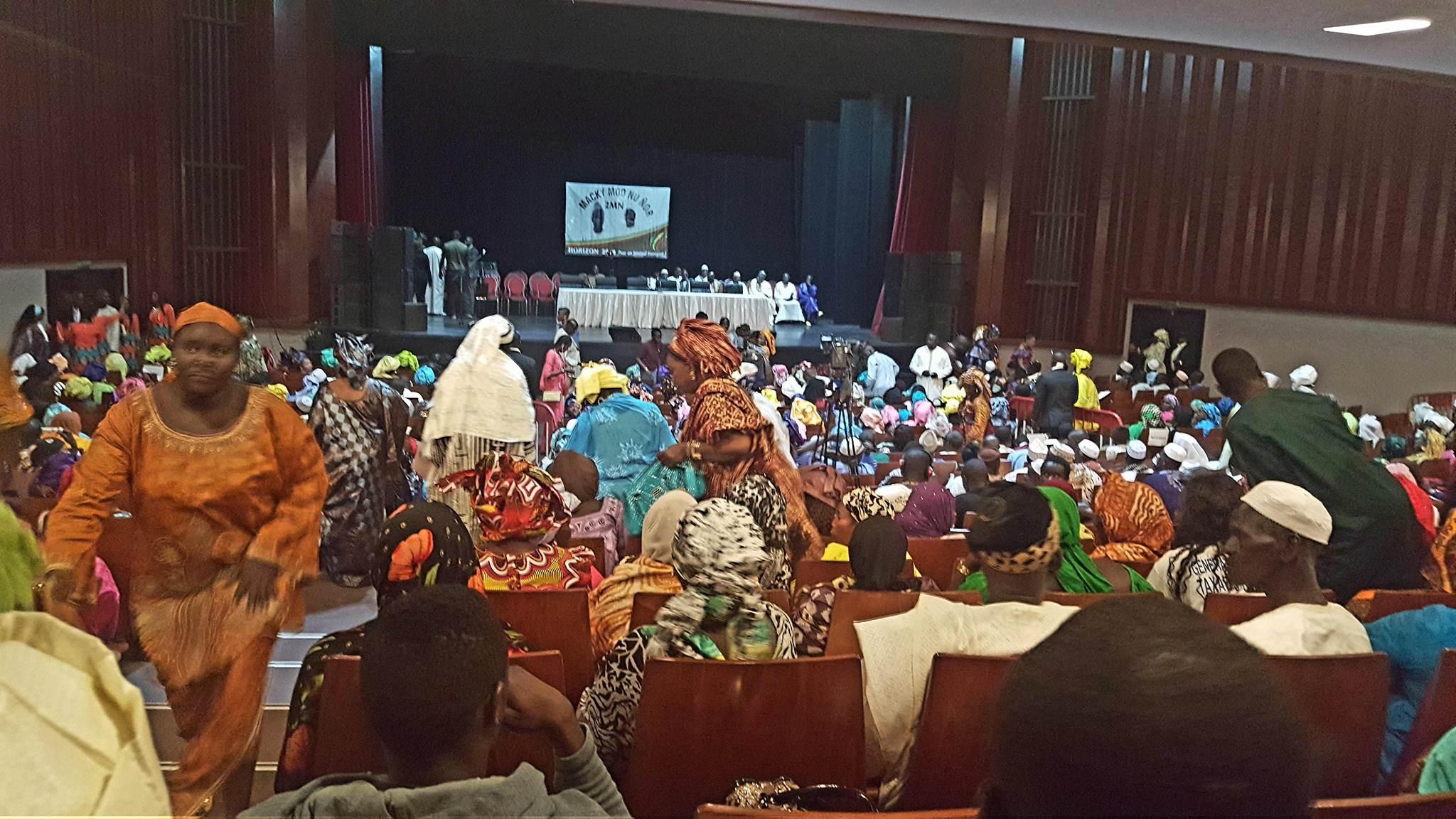 Quelques images de la cérémonie de lancement du mouvement MACKY MOO GNOU DOOY/HORIZON 2019