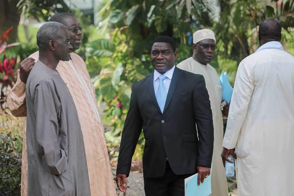Quelques images de la rencontre de la salle des Banquets du Palais Présidentiel sur le dialogue national