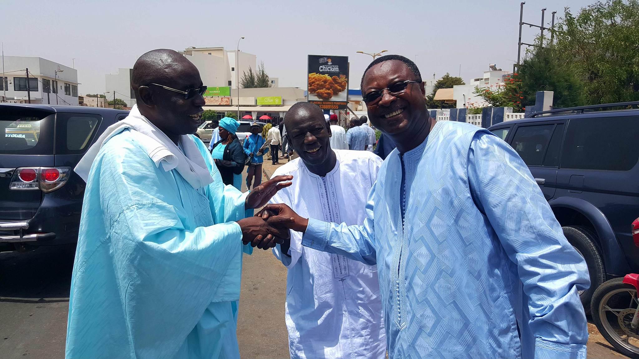 """Arrêt sur image! Quand trois """"talibés"""" de Serigne Saliou Mbacké se retrouvent!"""