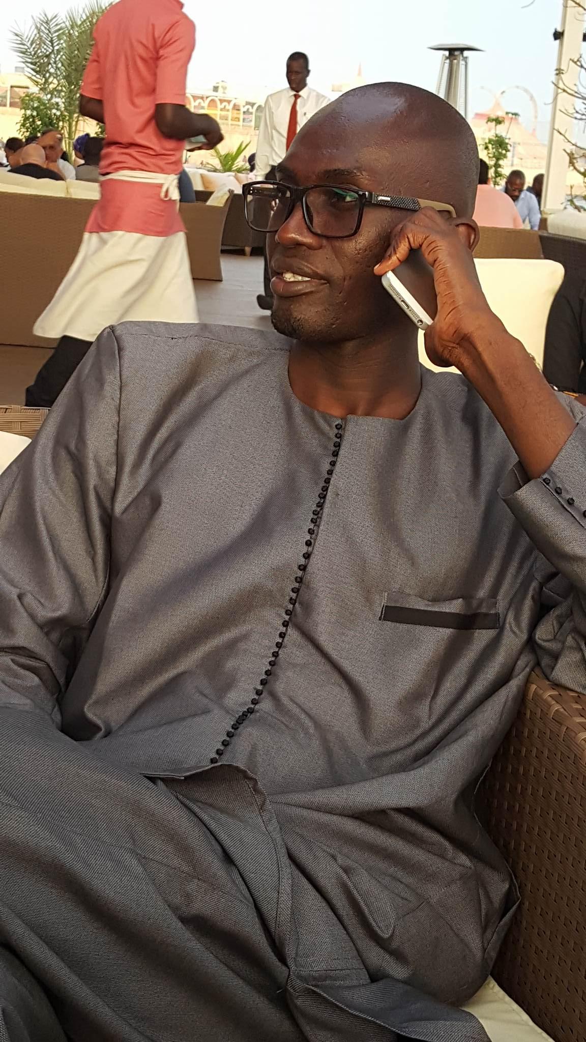 Voici Serigne Khassim ibn Serigne Cheikh Astou Fall Mbacké, fidèle compagnon du Pr Macky Sall    !