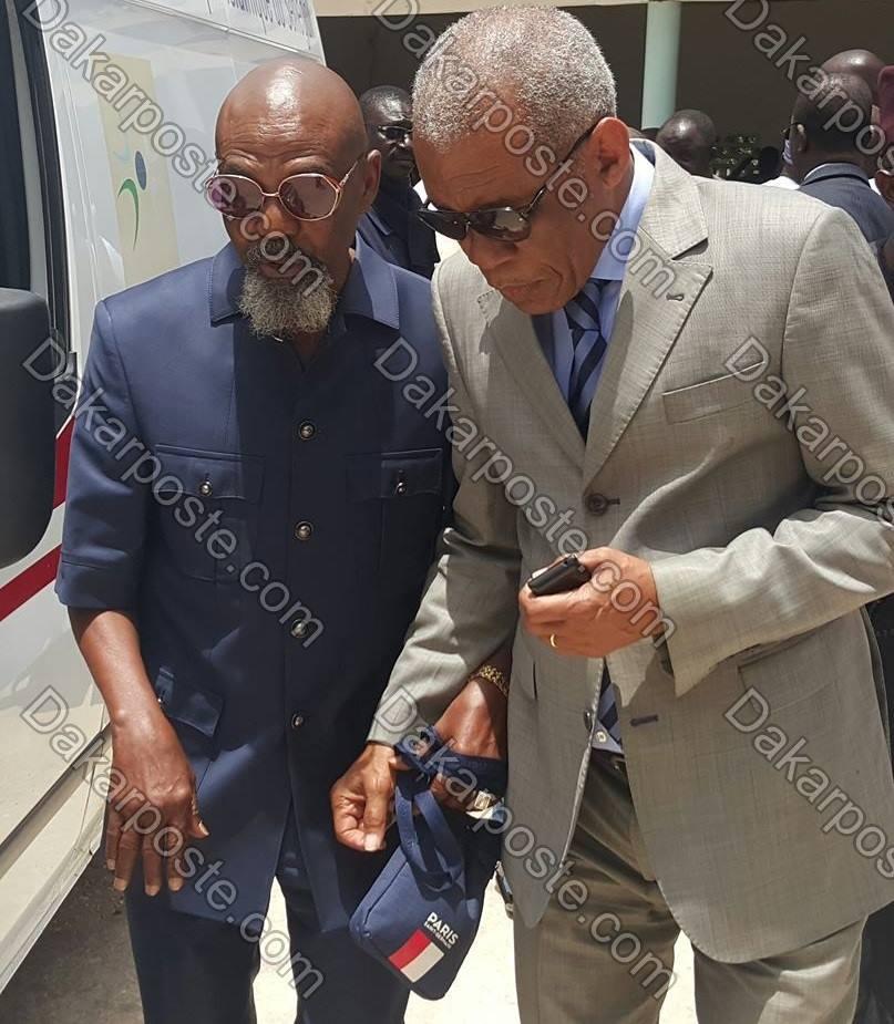 Arrêt sur image! Quand l'ex chef de Cabinet de Wade et le légendaire chef de protocole du Palais Présidentiel se retrouvent...