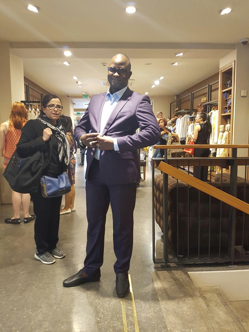 L'homme d'affaires Cheikh Gadiaga à Paris pour...