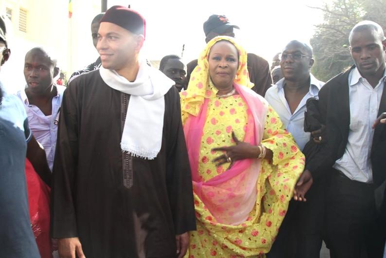 Wade fils a joint l'ex sénatrice ...Ce que Karim Wade et Aïda Ndiongue se sont dits  (EXCLUSIF DAKARPOSTE)