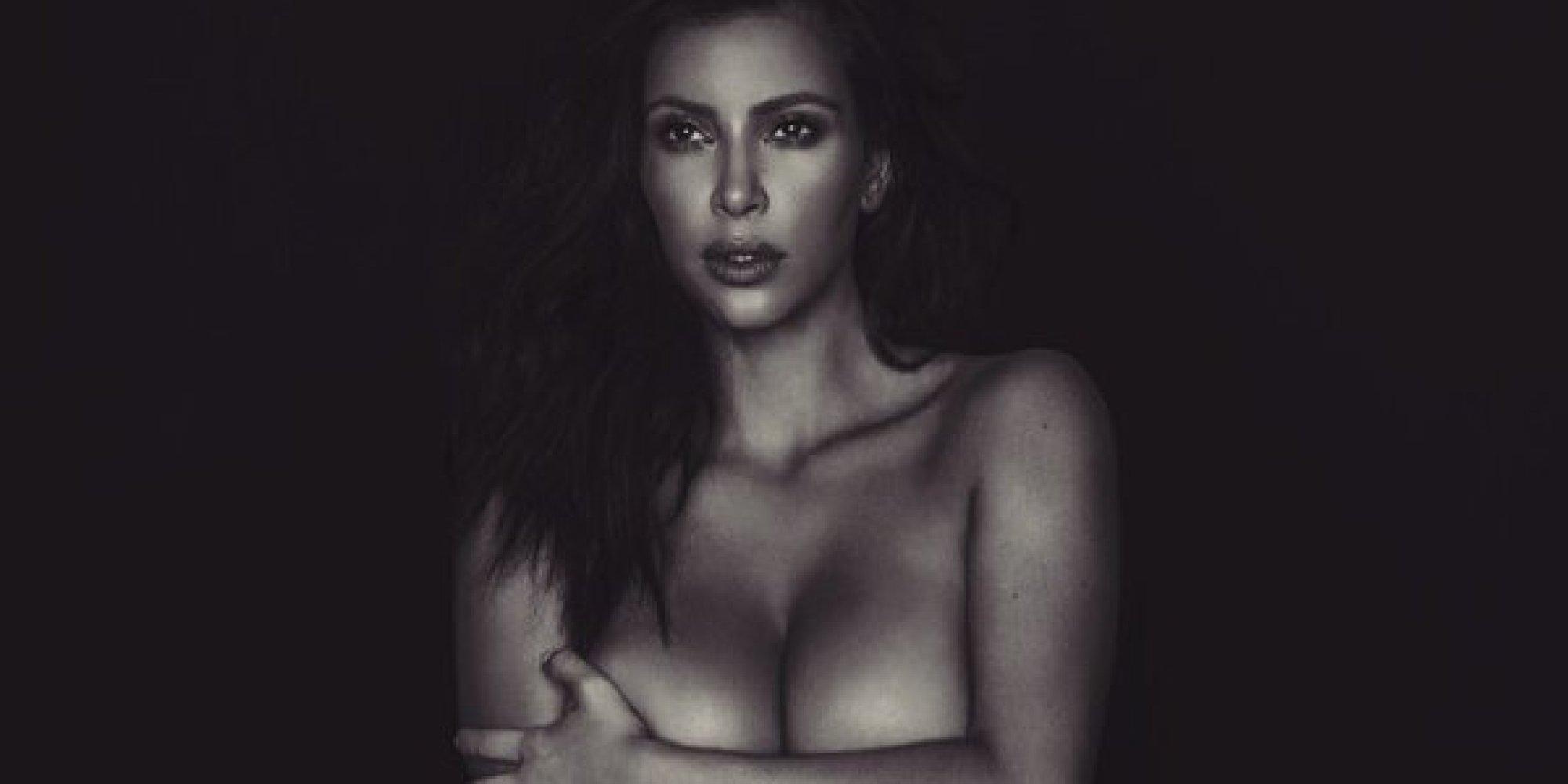 """Kim Kardashian nue sur Instagram: """"C'est de l'art"""""""