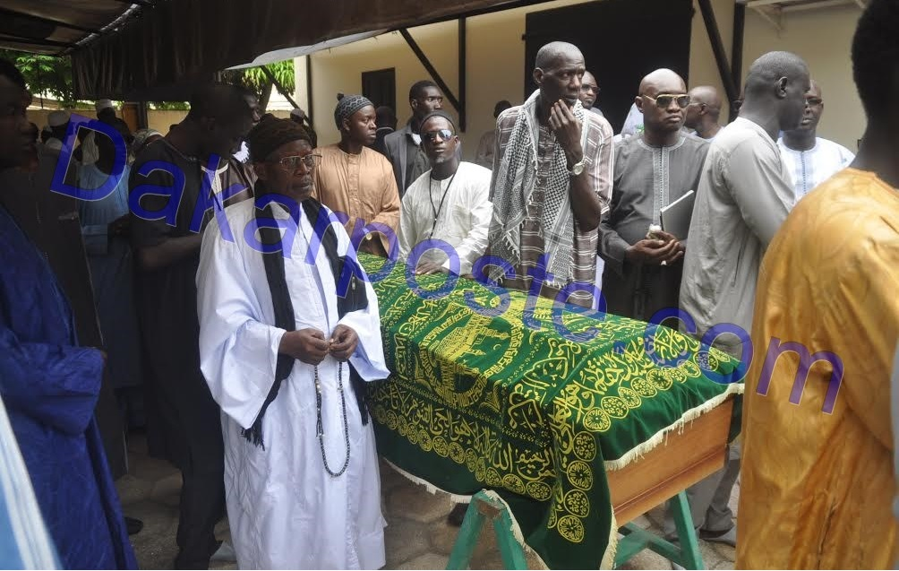 Les images de la levée du corps du défunt président de la Chambre de Commerce de Dakar