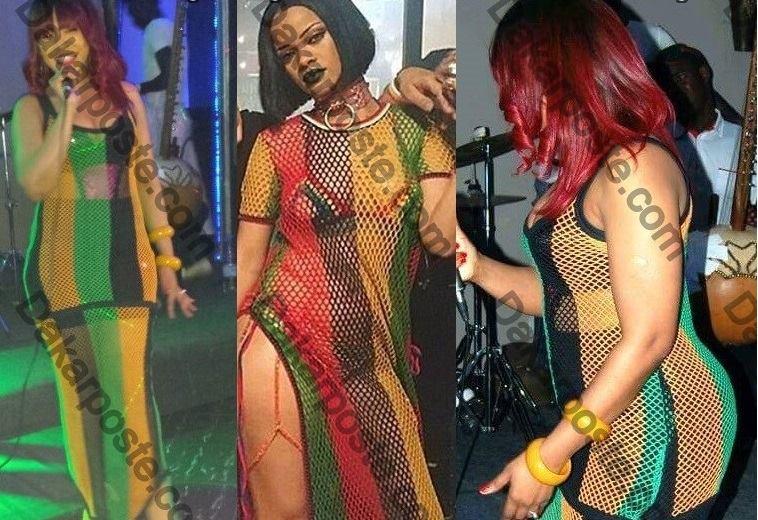 Viviane copiant Rihanna à travers son port vestimentaire