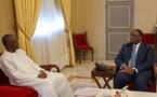 Macky Sall s'est entretenu avec M. Ousmane Tanor Dieng Président du Haut Conseil des Collectivités Territoriales