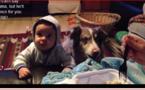 """Ce chien parvient à dire """"maman"""" pour une friandise"""