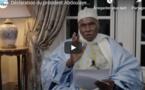 URGENT - Déclaration du Président Abdoulaye Wade