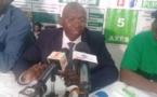 Issa Sall candidat du PUR face à la presse ce mercredi