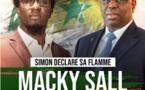 Le rappeur Simon Kouka vote Macky
