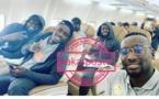 """Les """"Lions"""" se sont envolés par vol spécial pour...  Eswatini (IMAGES EXCLUSIVES)"""