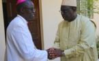 Visite du PR à Monseigneur Benjamin Ndiaye