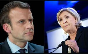Résultats élection présidentielle : Macron et Le Pen qualifiés
