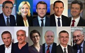 Urgent Présidentielle française-  Emmanuel Macron arrive en tête du 1er tour avec 23,7%, suivi par Marine Le Pen avec 21,7% (estimations Ipsos)