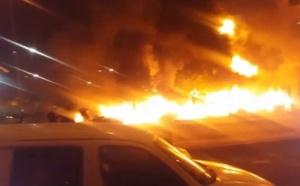 Dernière minute: Incendie à la direction de la Sicap