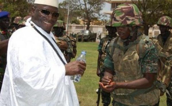 Mais que font ces militaires gambiens??