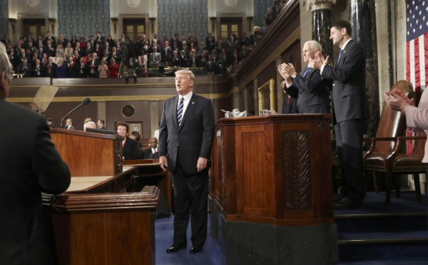 Donald Trump face au Congrès: ce qu'il faut retenir