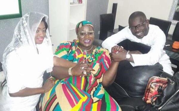 Image: Pape Cheikh Diallo et sa femme Kya Aidara en toute complicité avec …