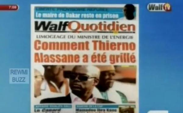 Revue de Presse WalfTv du Mercredi 03 Mai 2017 en images