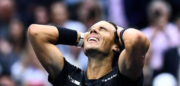 Rafael Nadal remporte son 16e tournoi du Grand Chelem