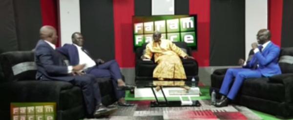 Suivez votre émission Faram facce avec Cheikh Y. Seck , Yoro Dia & Momar Diongue