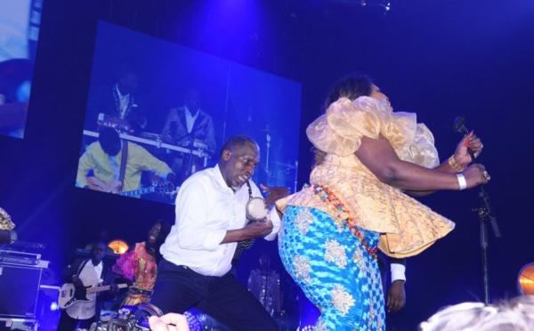 10 Photos: Ngoné Ndiaye Guewel a bien représenté le leumbeul à Bercy