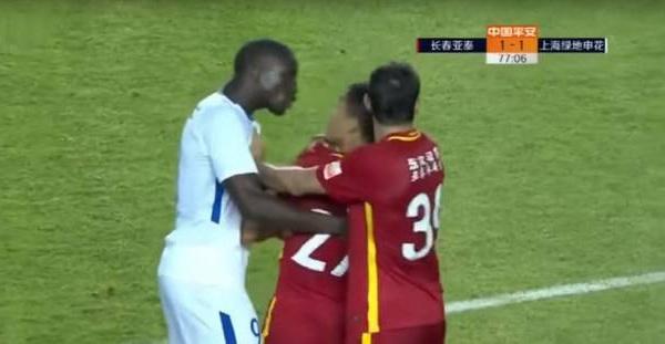 6 matches de suspension pour le joueur qui avait insulté Demba Bâ…