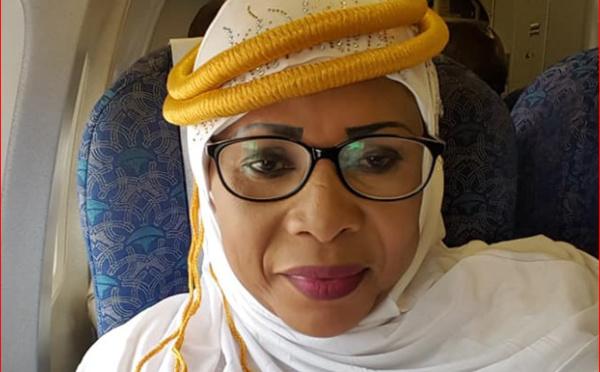 (9 photos) Pèlerinage – Mame Diarra Fam députée de la Diaspora à la Mecque