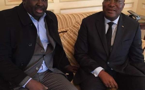 L'homme d'affaires Abdou Lahad Ndiaye souhaite la bienvenue au Sénégal à son ami le Pr Kaboré