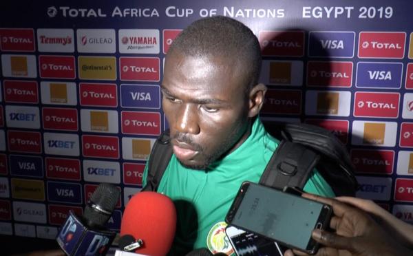 CAN 2019-Koulibaly aux journalistes : « je m'en excuse »