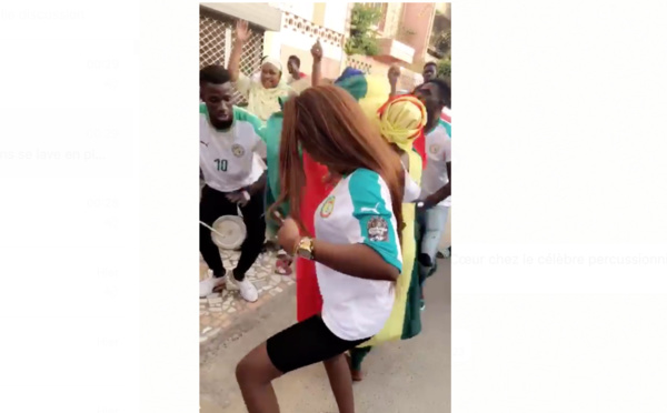 La victoire des Lions fêtée à Sacrée Cœur chez le célèbre percussionniste Mbaye Dieye Faye