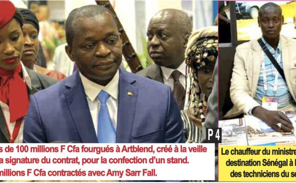 La bamboula d'Alioune Sarr à Paris...