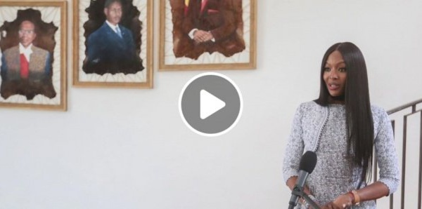 Lutte contre le Covid-19 : Naomi Campbell félicite le Sénégal