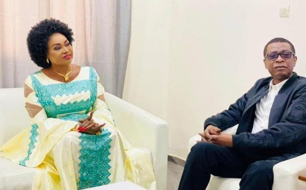Oumou Sangaré reçue par Youssou Ndour