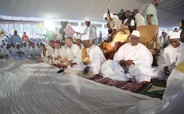Arrêt sur Image : Macky SALL n'est pas Mouride, il a assisté au Khadaratoul jummad à Médina Gounass