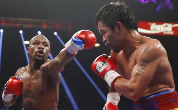 Boxe: Mayweather gagne le «combat du siècle» face à Pacquiao