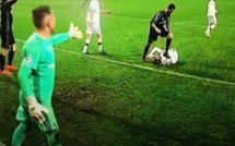 Ligue des champions: le vilain geste de Cristiano Ronaldo contre Varsovie