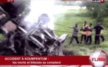 Accident à Koupentum: les morts et les blessés se comptent
