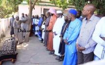 La levée du corps d'Habib Barrow, fils du Pr Gambien