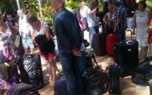 Arrêt sur image !Des touristes qui fuient la Gambie
