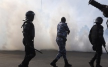Khalifa Sall et co bombardés de grenades lacrymogénes