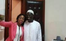 Aby Ndour Chez Khalifa Sall aprés son audition